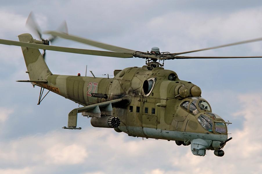 Ми-24. Ударный вертолет.
