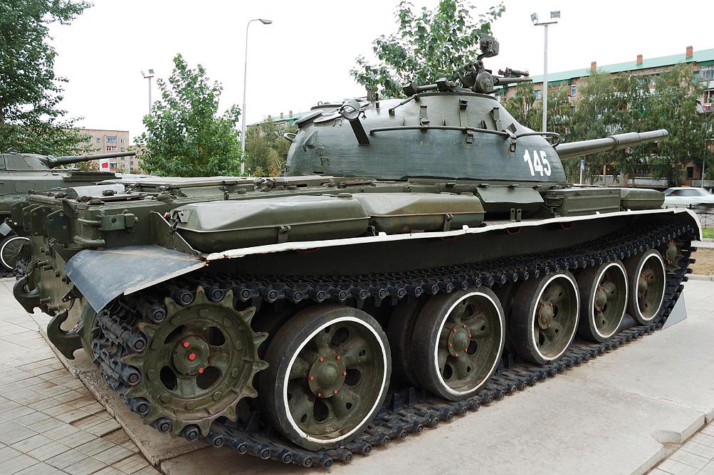 Т-62. Средний танк. (СССР)