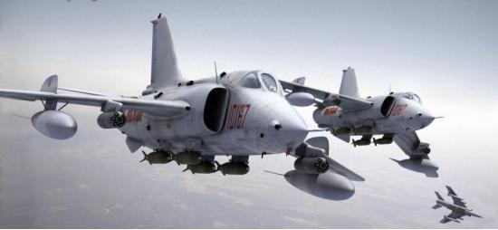 Nanchang Q-5. Штурмовик. (Китай)