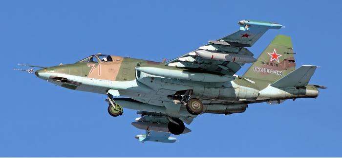 Су-25. Штурмовик. (СССР-Россия)