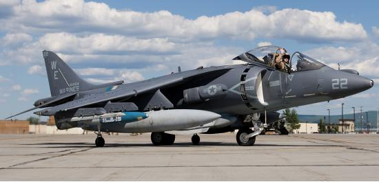 AV-8B Harrier II. Штурмовик вертикального взлета. (США)