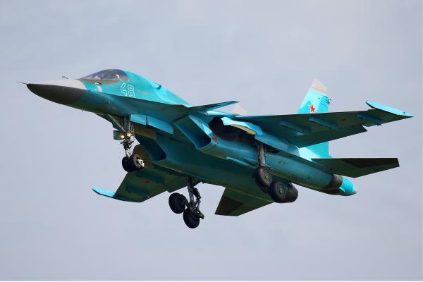 Су-34. Фронтовой бомбардировщик. (Россия)