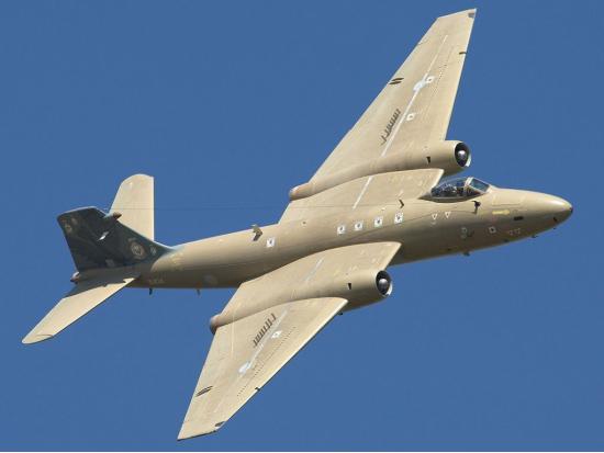 English Electric Canberra. Средний бомбардировщик. (Англия)