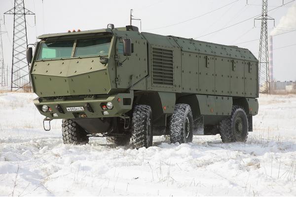 КАМАЗ-63968 «Тайфун». Бронированный автомобиль. (Россия)