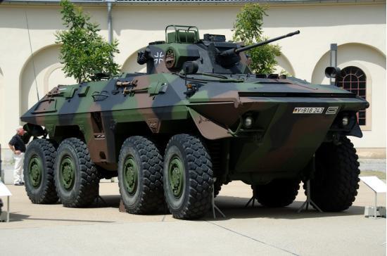 SpPz 2 «Luchs». БРМ. (Германия)