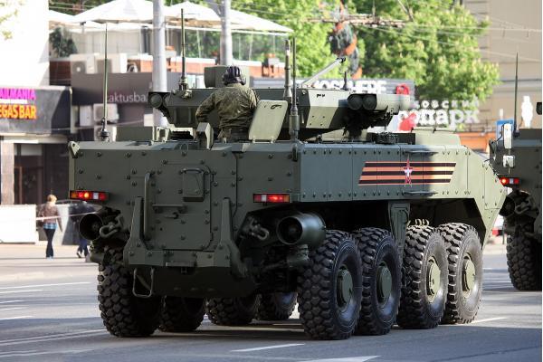 БТР К-16 и БМП К-17 (ВПК-7829). БТР, БМП. (Россия)
