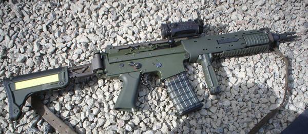 Ak5C. Автоматический карабин. (Швеция)