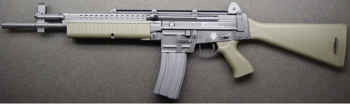 Robinson Armaments M96. Самозарядный карабин. (США)