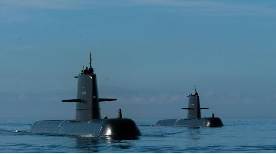 Подводные лодки типа «Готланд». Cерия дизель-стирлинг-электрических подводных лодок. (Швеция)