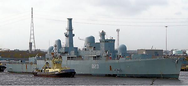 D23 HMS Bristol 1