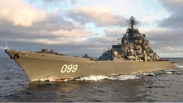 «Петр Великий». Тяжелый атомный ракетный крейсер. (СССР)