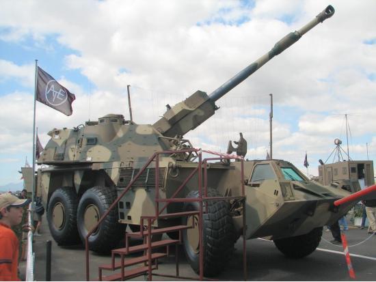 G6 «Rhino». САУ. (ЮАР)