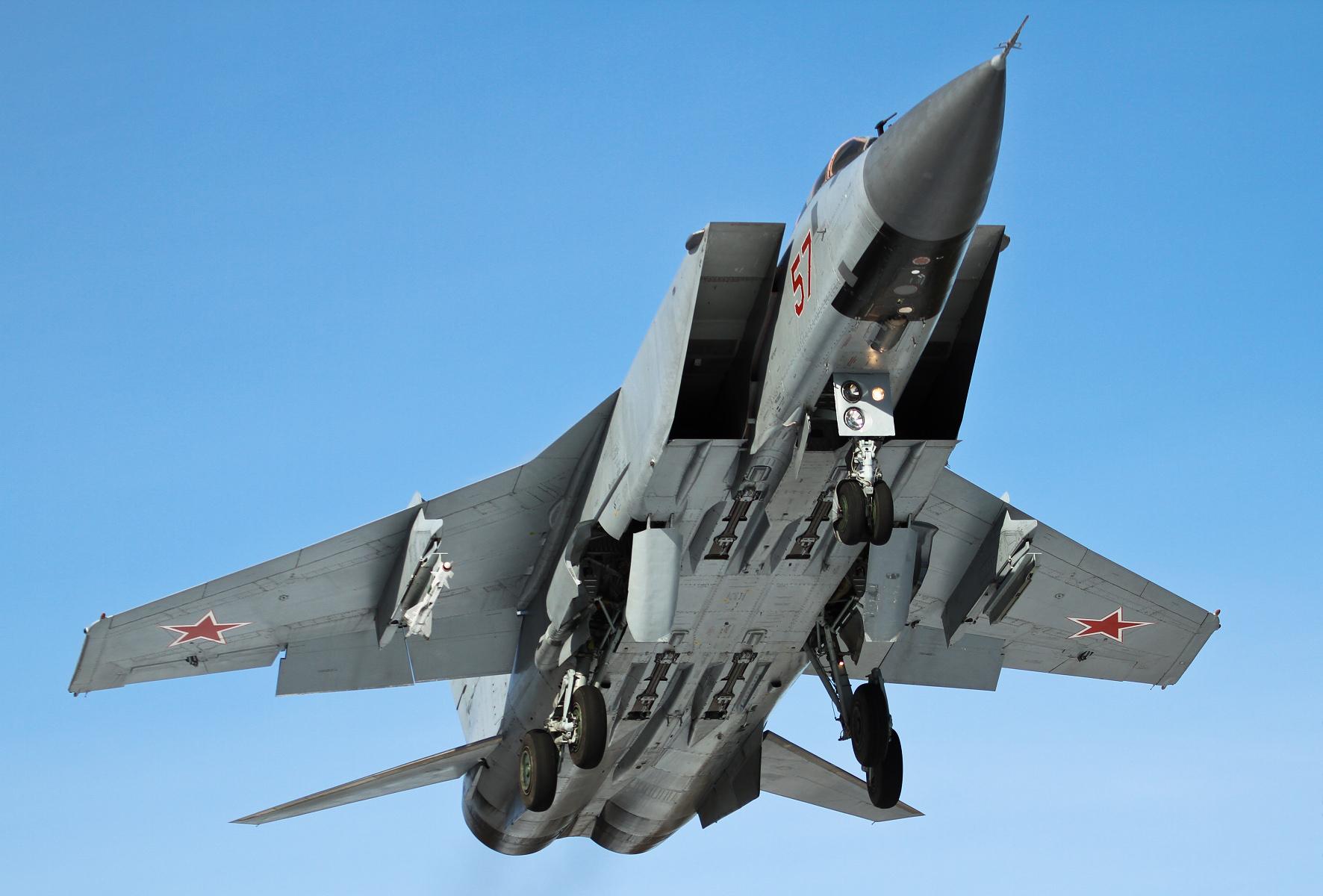 МиГ-31 ждёт схватка в небе Сирии?