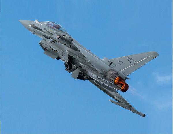 Eurofighter Typhoon. Многоцелевой истребитель. (ЕС)