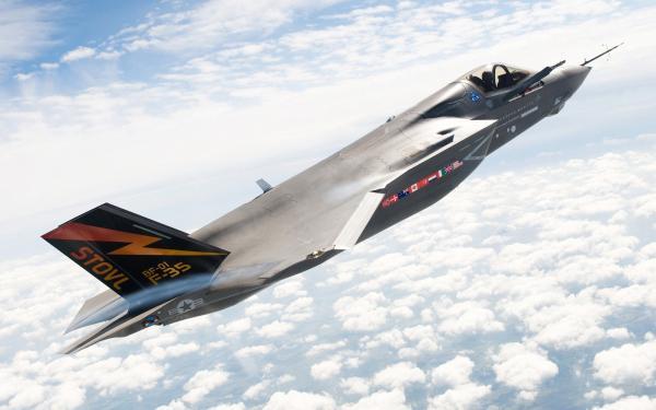 F-35 Lightning II. Истребитель-бомбардировщик. (США)