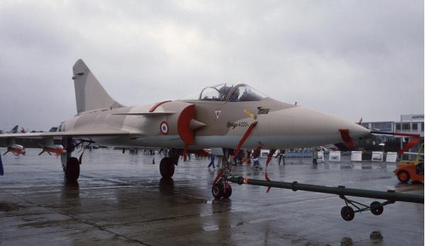 Dassault Mirage 4000. Истребитель. (Франция)