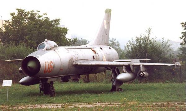 Су-7. Истребитель-бомбардировщик. (СССР)