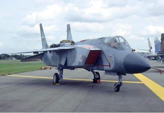 Як-141. Палубный истребитель. (СССР-Россия)