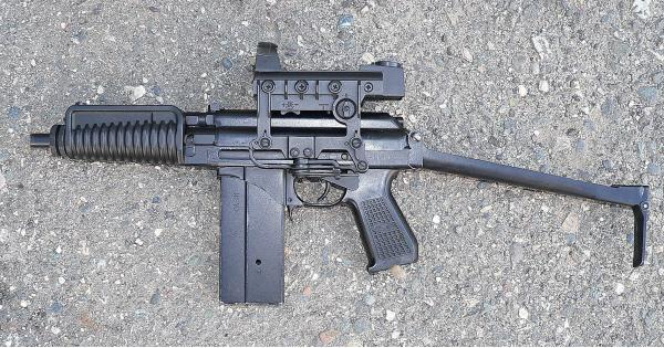 9А-91. Компактный автомат. (Россия)
