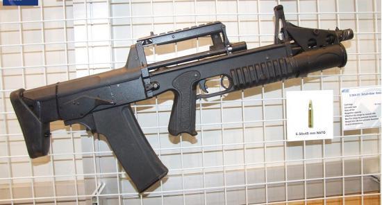А-91. Автоматно-гранатометный комплекс. (Россия)