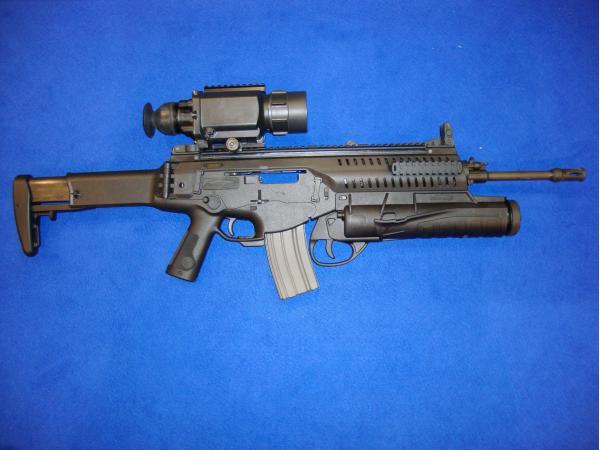 ARX-160. Штурмовая винтовка. (Италия)