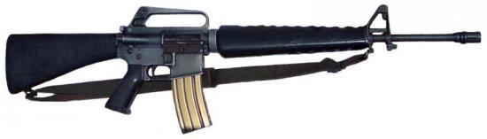 M16 - американская автоматическая винтовка.