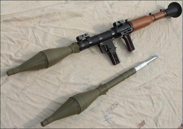 РПГ-7. Противотанковый гранатомет. (СССР-Россия)