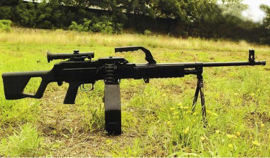 QJY-88. Единый пулемет. (Китай)