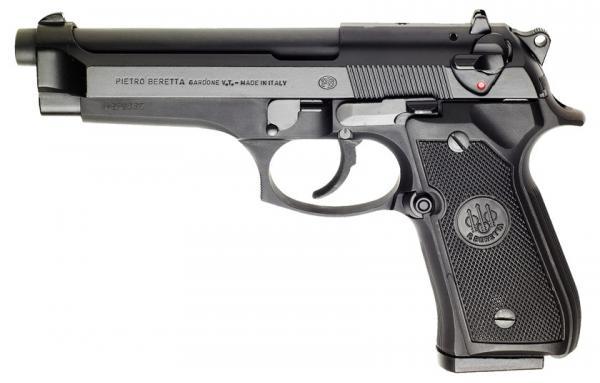 Beretta 92. Самозарядный пистолет. (Италия)