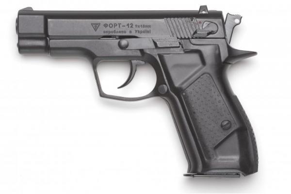 Форт-12. Cамозарядный пистолет. (Украина)