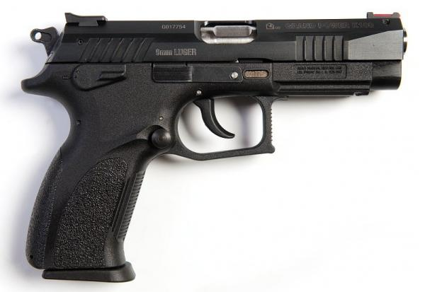 Grand Power K100. Самозарядный пистолет. (Словакия)