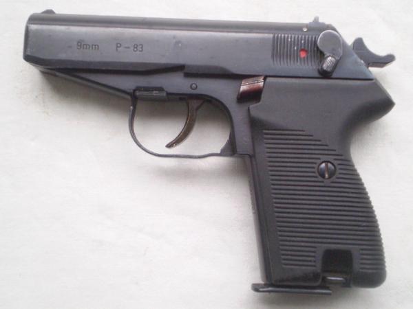 P-83. Самозарядный пистолет. (Польша)