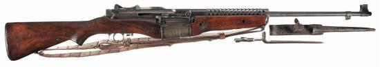 Johnson М1941. Самозарядная винтовка. (США)