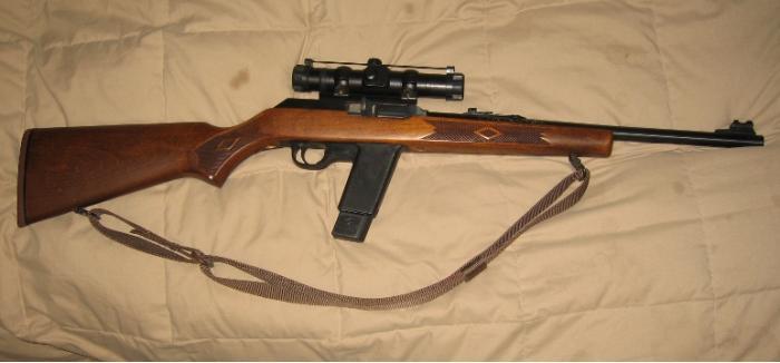 Marlin Camp Carbine. Самозарядный карабин. (США)