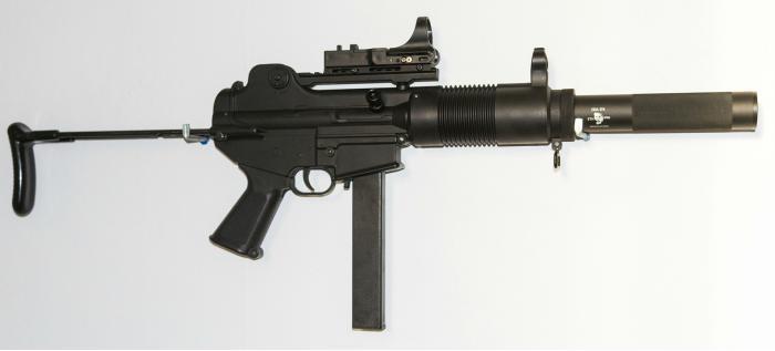 Daewoo K7. Пистолет-пулемет. (Южная Корея)