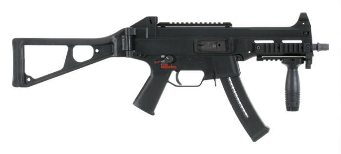 HK UMP. Пистолет-пулемет. (Германия)