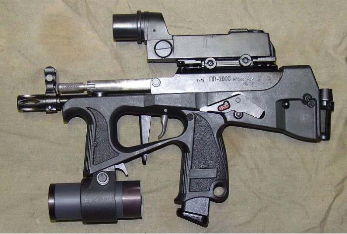 ПП-2000. Пистолет-пулемет. (Россия)