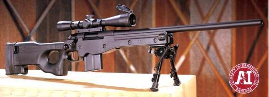 Accuracy International AE. Снайперская винтовка. (Англия)