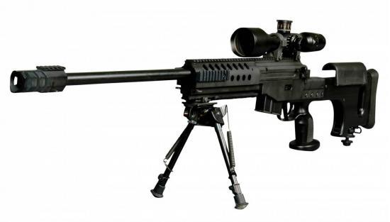 Bora JNG-90. Снайперская винтовка. (Турция)