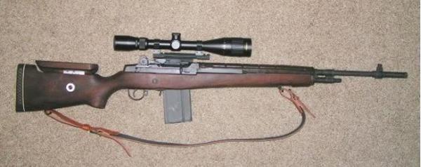 M21. Снайперская винтовка. (США)