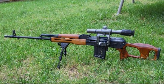 PSL. Самозарядная снайперская винтовка. (Румыния)