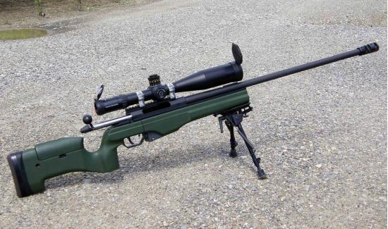 Sako TRG-42. Снайперская винтовка. (Финляндия)