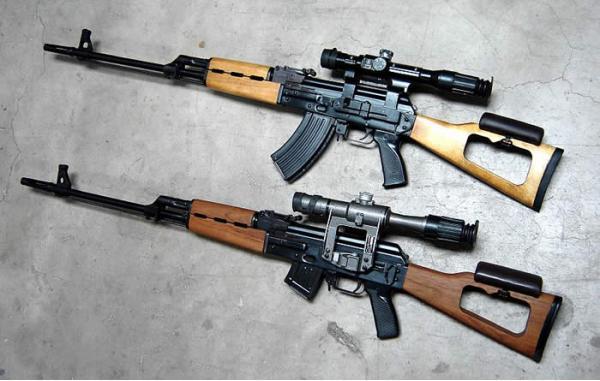 Tabuk. Самозарядная снайперская винтовка. (Ирак)