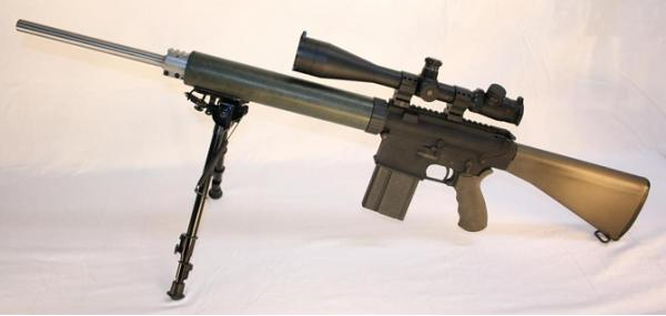 AR-10(T). Снайперская винтовка. (США)