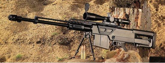 Accuracy International AS50. Снайперская винтовка. (Англия)