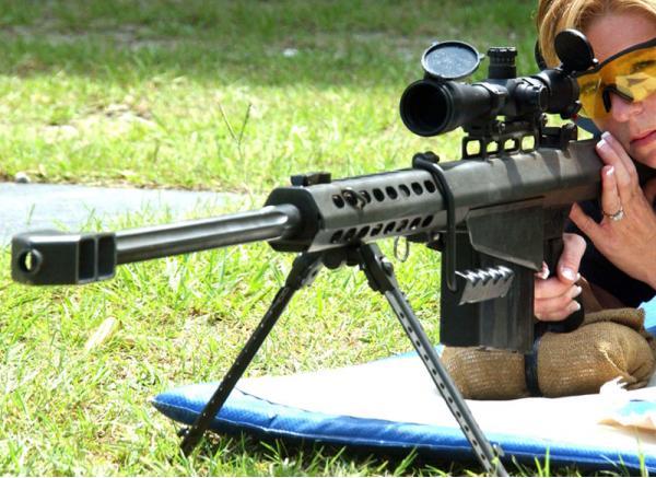 Barrett M82. Снайперская винтовка. (США)
