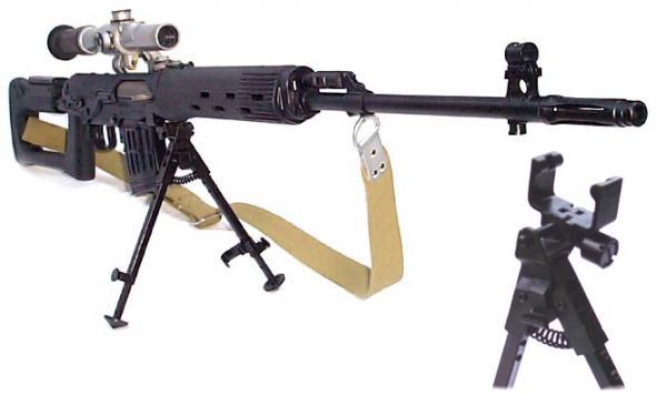 СВД. Снайперская винтовка. (Россия)
