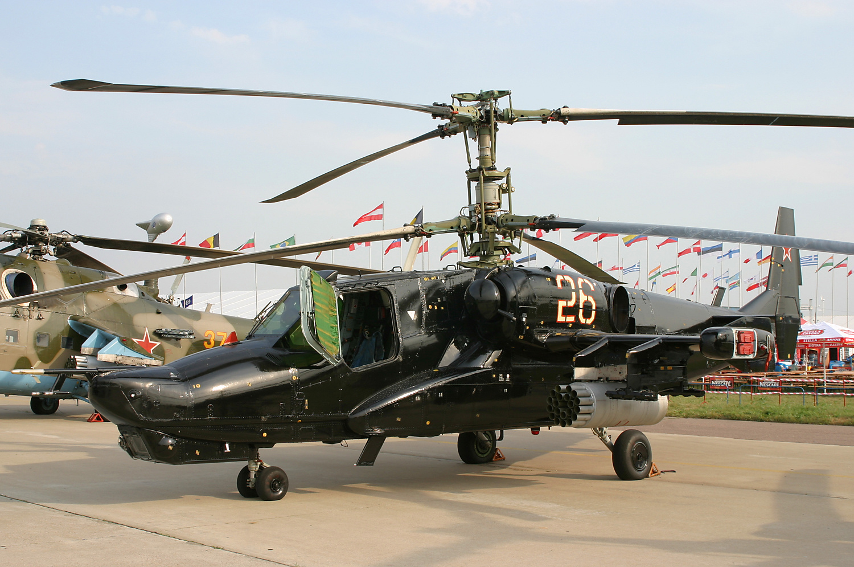 Военный вертолет россии черная акула