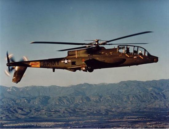 Lockheed AH-56 Cheyenne. Ударный вертолет. (США)