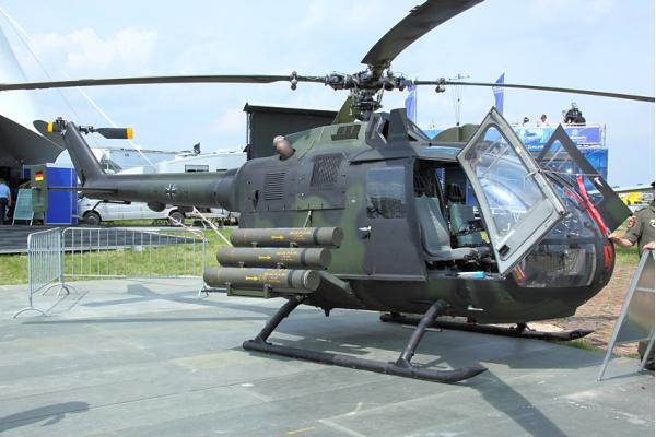 Bo.105. Легкий многоцелевой вертолет. (Германия)